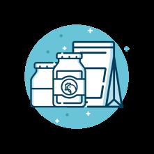 Logo Tersedia dalam berbagai varian dengan kandungan gizi sesuai kebutuhan hewan Image