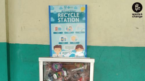 Collaboration with Unilever Indonesia: 3R Green School Program