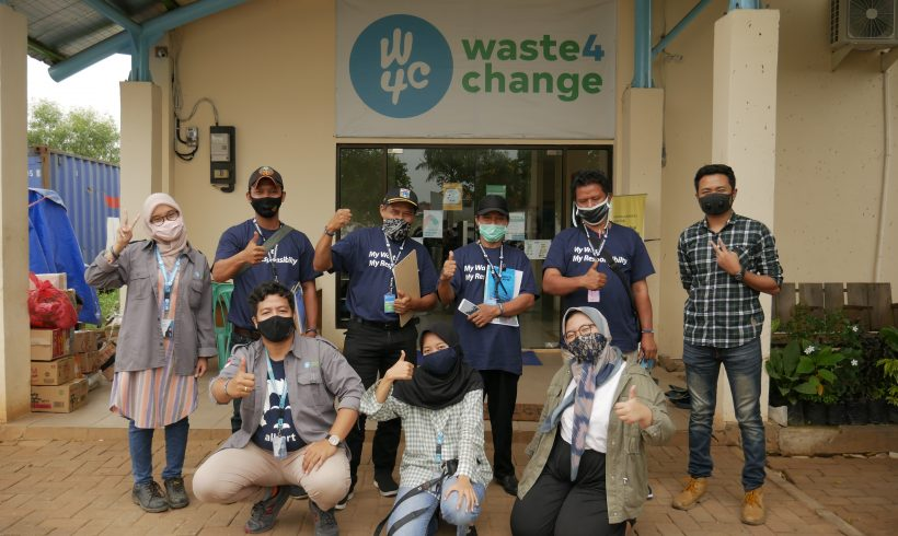 Waste4Change provides Black Soldier Flies Training for 2 Waste Management Sites (TPS)
