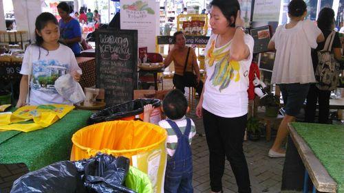 Kampanye #BijakKelolaSampah di Organic, Green, & Healthy Expo 2013