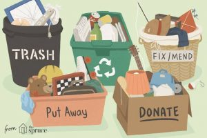 5 Kategori yang Dapat Dijadikan Acuan dalam Melakukan Decluttering. Sumber: The Spruce/Bailey Mariner
