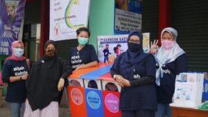 Relawan Bank Sampah Ganesha Lestari, Bogor - Sumber: Chefira Inda