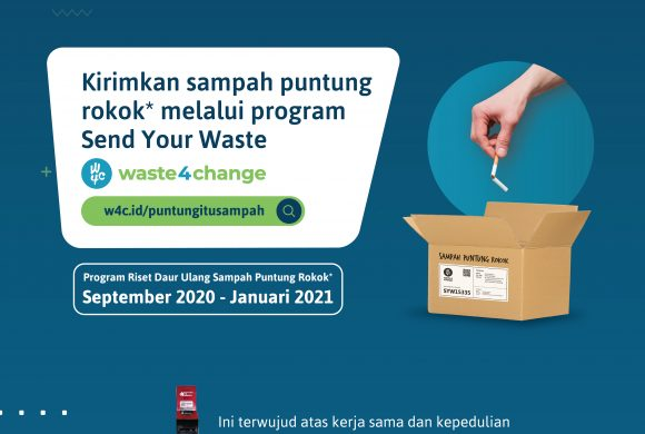 #PuntungItuSampah: Waste4Change and Sampoerna Cooperate in Recycling Cigarette Butts