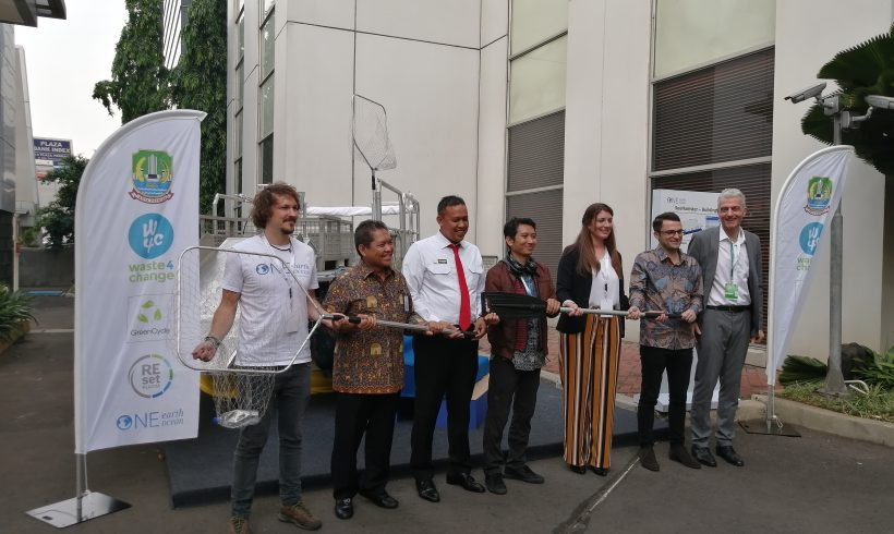 Greencycle-Schwarz Group and Waste4Change to Launch 3 Clean-Up Boats to Clean Kali Bekasi in 2020