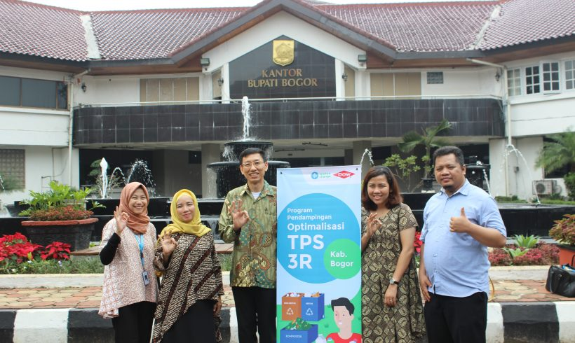 DOW Indonesia and Waste4Change Launch Bogor TPS 3R Optimization Program in 2020