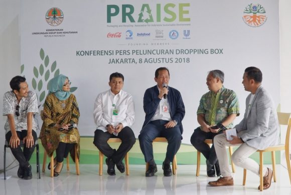 PRAISE will Distribute 100 'Dropping Box' to Increase Waste Sorting Awareness in Jakarta