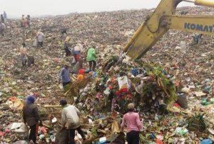 The condition of Terjun Landfill, Medan. Sumber: Tribunnews