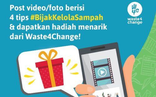 #4TipsBijakKelolaSampahW4C Competition (9-25 November 2018)