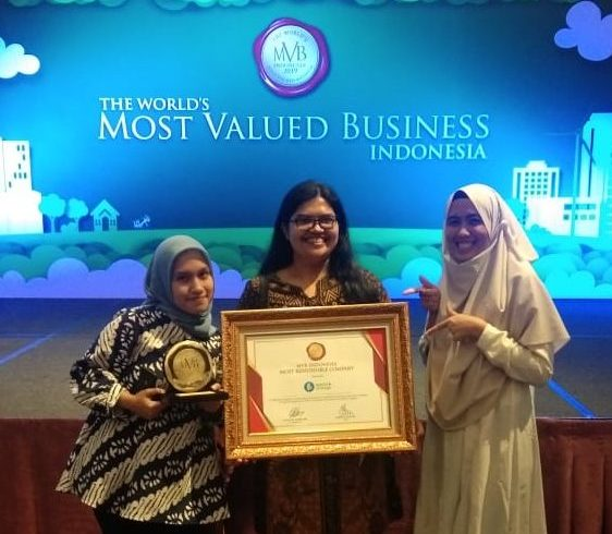 Waste4Change Awarded as The Most Responsible Company by World's Most Valued Business (MVB) Indonesia