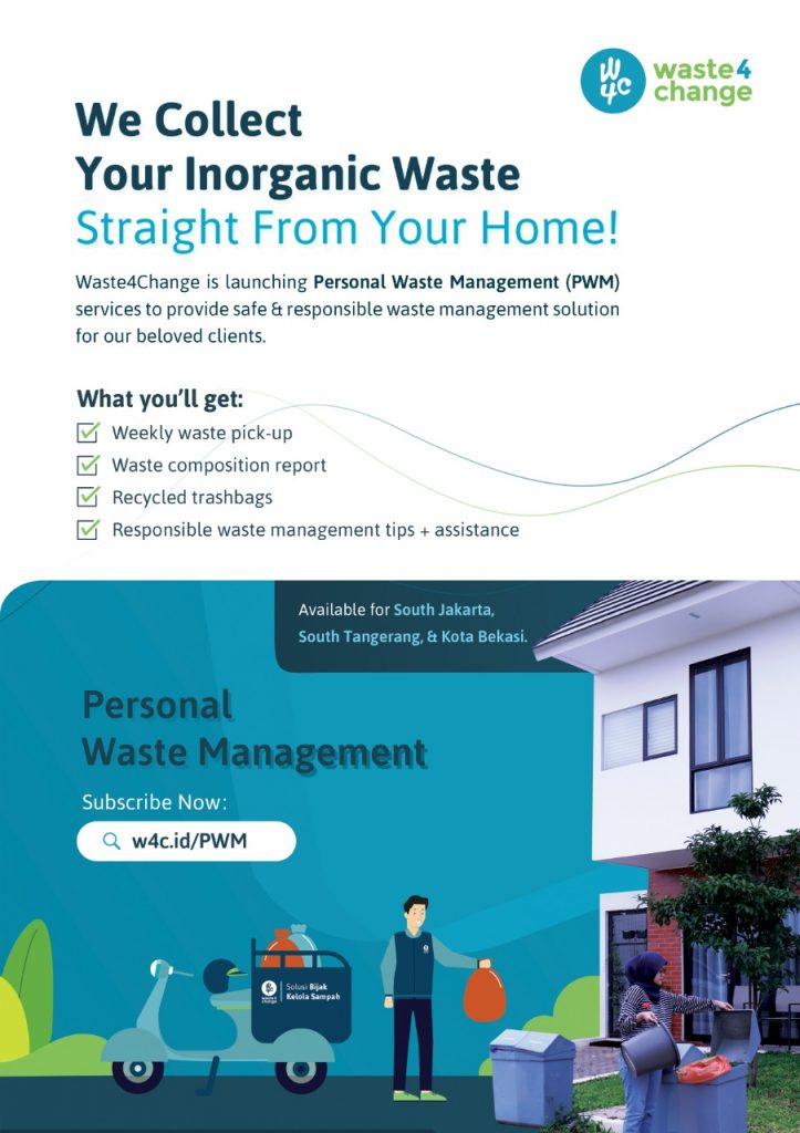 Personal Waste Management from Waste4Change