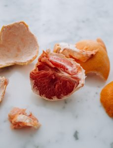 orange peel and orange scrap can be used for eco enzyme