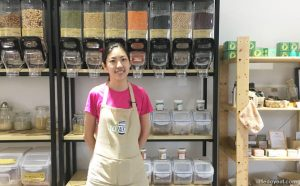 Florence Tay, the co-owner of Unpackt bulk store in Singapore
