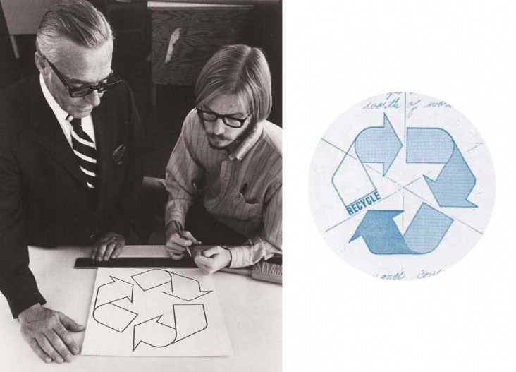Gary Anderson is the creator of the first recycling symbol (the mobius loop)