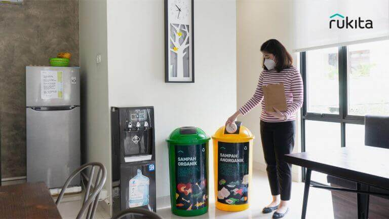 Rukita Promotes Sustainable and Zero-Waste Lifestyle Through Rukita's Environmental Awareness Program with Waste4Change