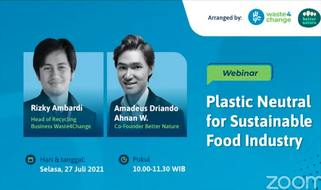 Webinar Plastic Neutral for Sustainable Food Industry