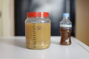 eco enzyme or garbage enzyme as a multipurpose liquid