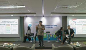 Sesi Talkshow oleh Bapak Medrilzam selaku Direktur Lingkungan Hidup Kementerian Perencanaan Pembangunan Nasional
