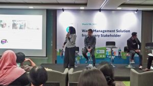 Talkshow Session by Mrs. Maya Tamimi, Head of Sustainability & Environment of Unilever Indonesia