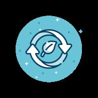 Logo Mendukung berjalannya circular economy pemanfaatan material organik Image